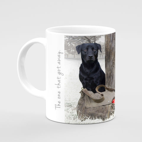Christmas Mug - The one that got away - Kitchy & Co