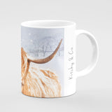 Christmas Mug - Hetty's winter coat - Kitchy & Co