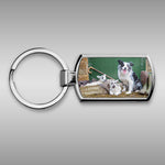 Blue merle border collie Keyring - Farming Bits and Bobs - Kitchy & Co