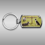 Sheepdog Keyring - Ewe Take the Left - Kitchy & Co