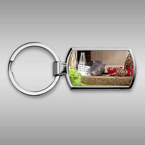 Pig Keyring - Please do not disturb - Kitchy & Co