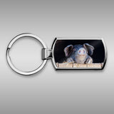 Happy pig Keyring - Did you bring cake ? - Kitchy & Co