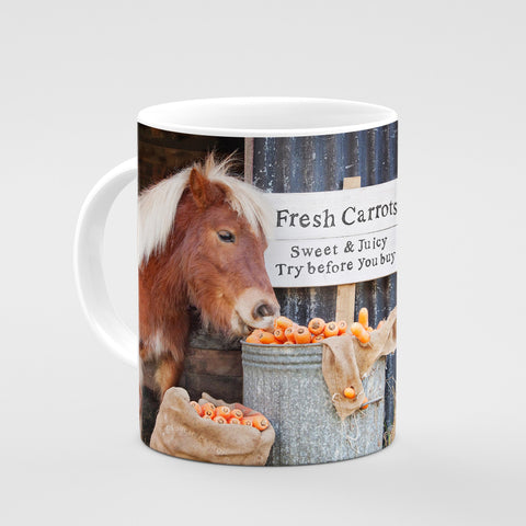 Shetland Pony Mug - Try before you buy - Kitchy & Co
