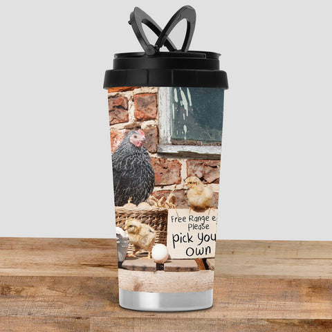 Chicken Travel Mug - Pick Your Own - Kitchy & Co