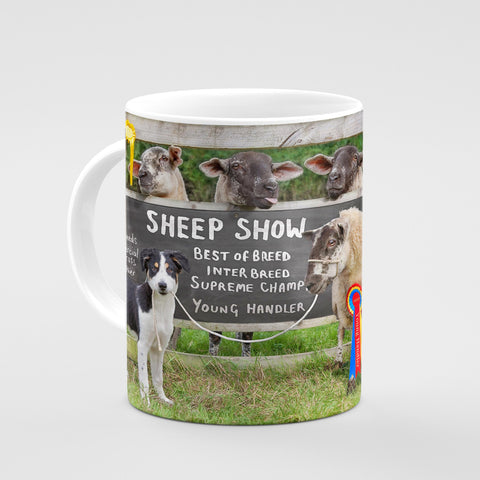 Sheep Show Mug - Young sheep handler - Kitchy & Co