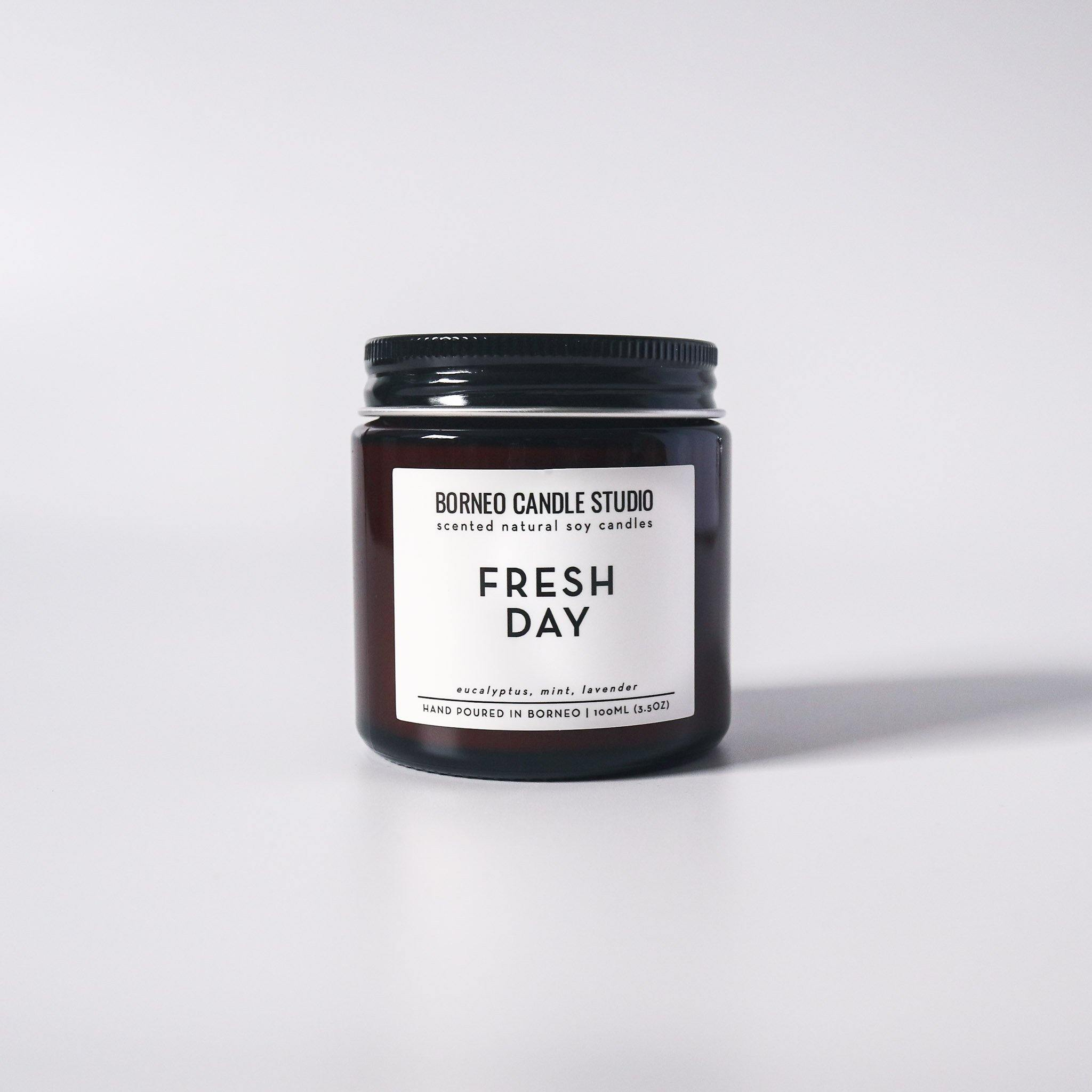 Fresh Day Soy Candle - eucalyptus, mint, lavender