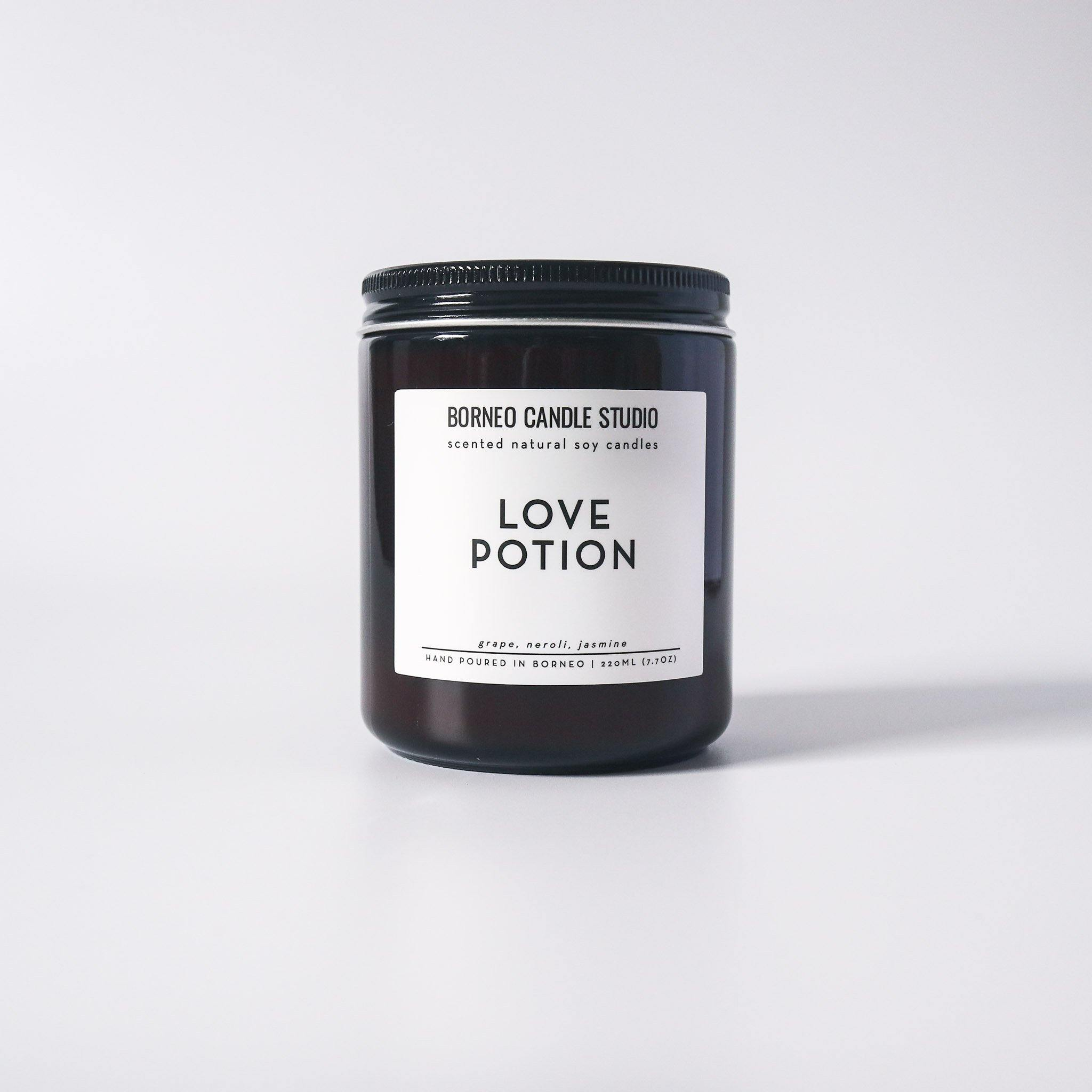 Love Potion Soy Candle - grape, neroli, jasmine