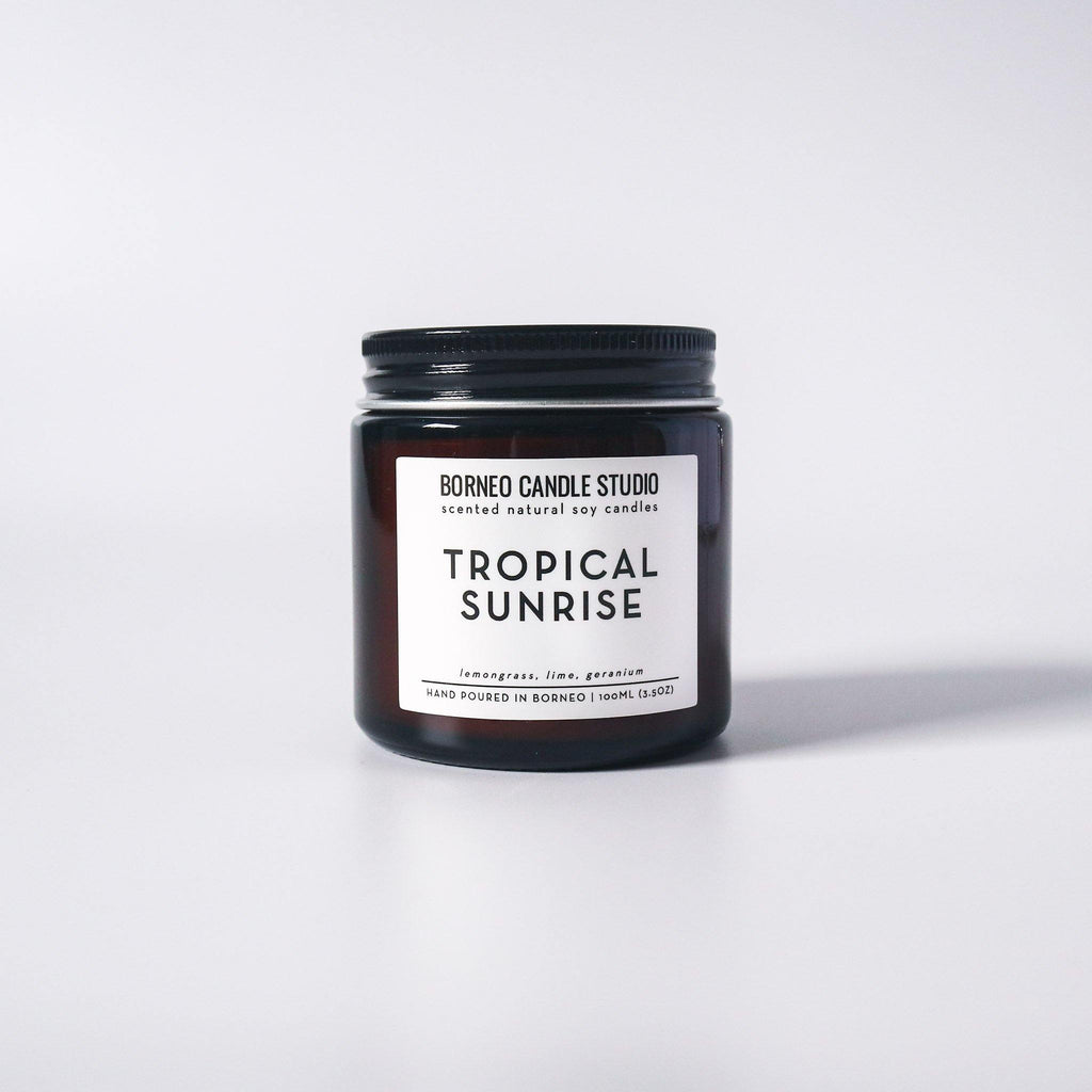 Tropical Sunrise | Soy Candle - Borneo Candle Studio