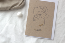 Load image into Gallery viewer, WOMAN EMPOWERMENT // A6 Greeting Card