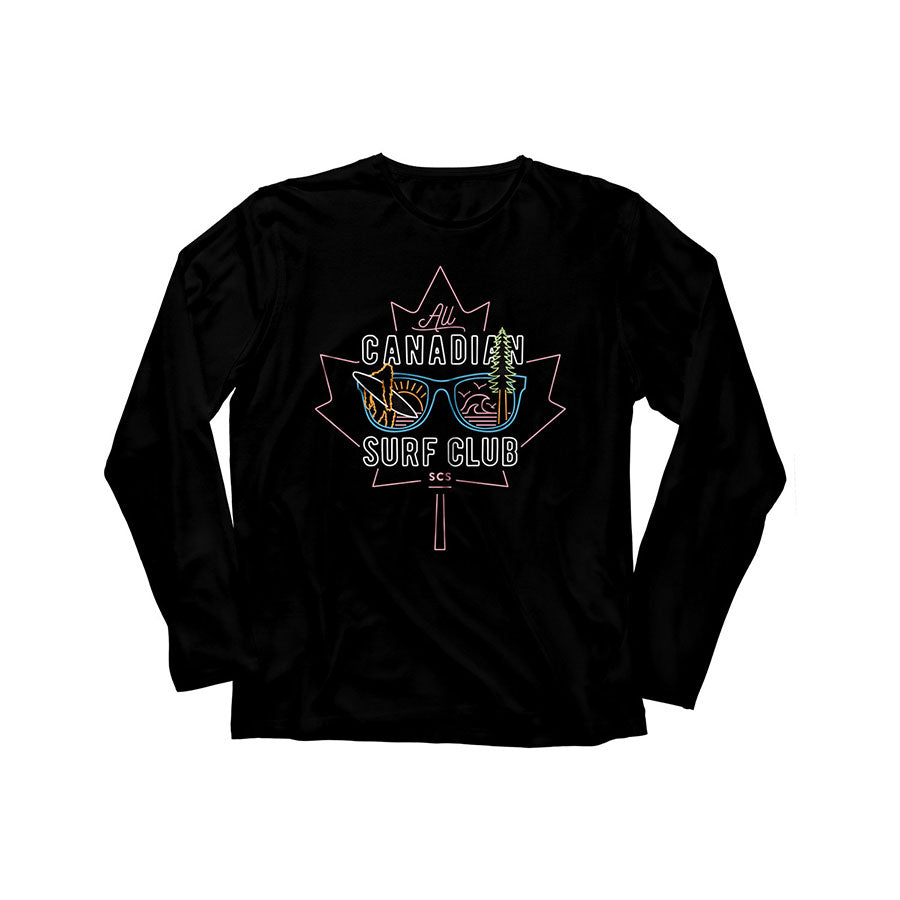 All Canadian Surf Club Long Sleeve