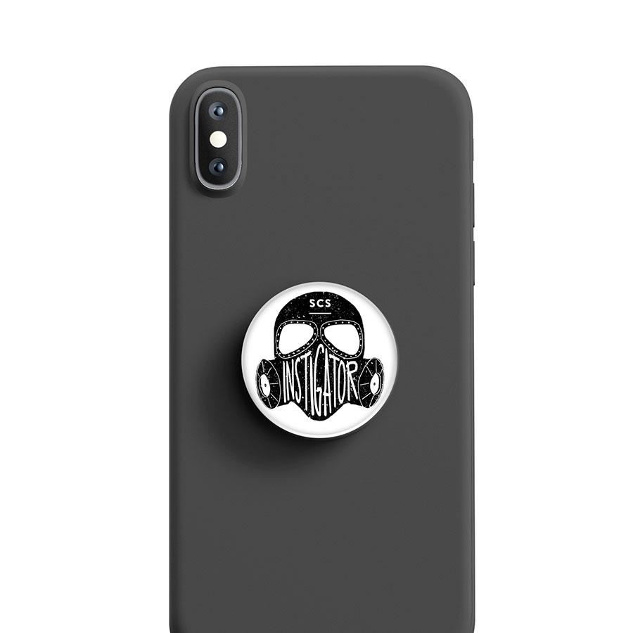 Instigator Gas Mask Pop-Socket