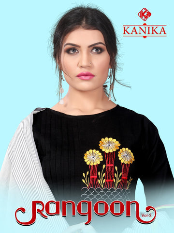 KANIKA RANGOON VOL.2 KURTI WITH DUPATTA DAILYWEAR COLLECTION