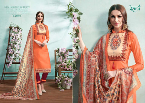 Rani Group Spanish Vol 9 Elegant Salwar Suit Collection
