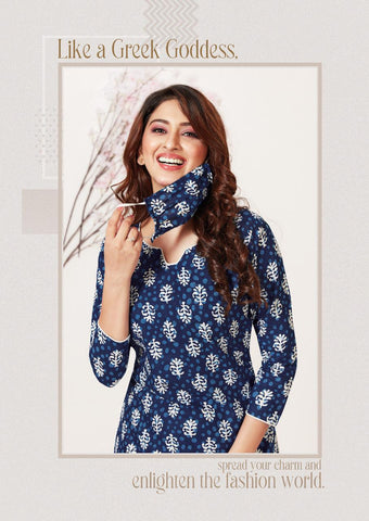 Aarvi Fashion Butterfly Lawn Collection Casual Wear Suits