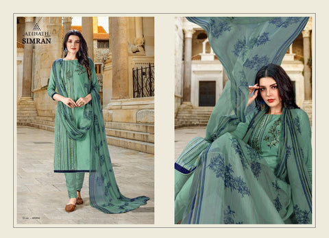 Adinath Prints Simran Cambric Cotton Digital Printed Embroidery Work Salwar Kameez