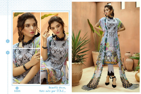 Cyra Fashion Alizeh Vol 3 Cotton Embroidery Pakistani Salwar Suits