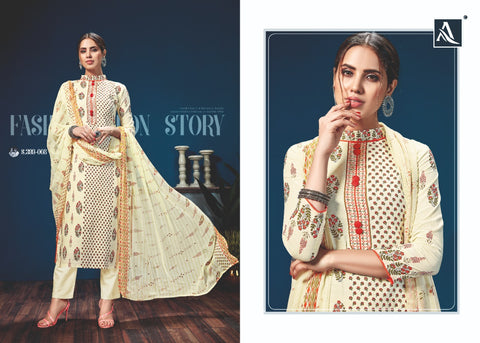 ALOK SUIT PRESENTS KAZO DIGITAL PRINTED COTTON SUIT COLLECTION
