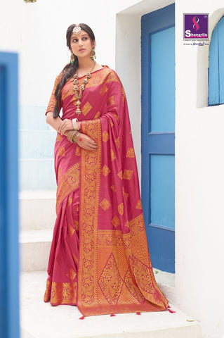 SHANGRILA PRINTS ANANTAM ORIGINAL ZARI SILK SAREE COLLECTION