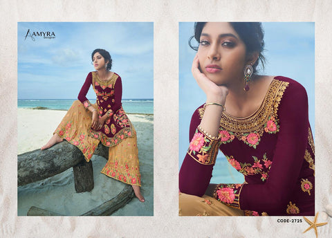 Amyra Designer Kajra Vol 8 Heavy Embroidery & Fancy Work Collection