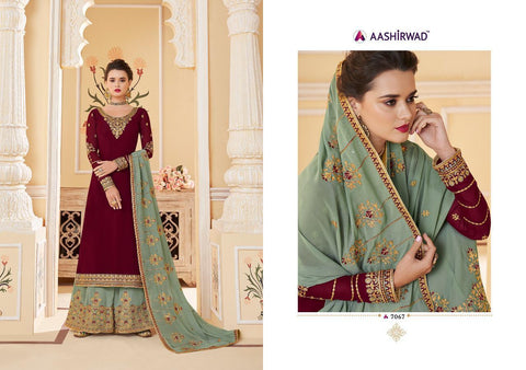 Aashirwad Creation Suhani Nx Georgette Embroiderey Bridal Collection