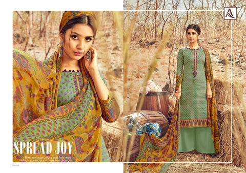 Alok Suits Avani Jam Cotton Digital Printed Fancy Salwar Kameez