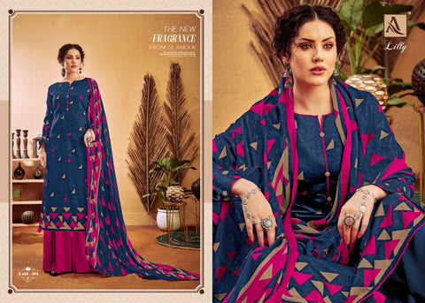 Alok Suits Lily Jam Cotton Digital Printed Collection Salwar Suits