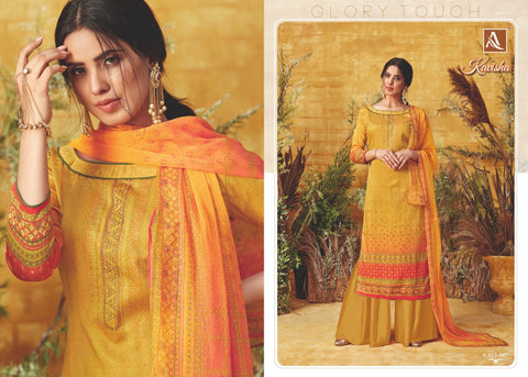 Alok Suit Kavisha Digital Printed Cotton Suit Collction In Wholesale