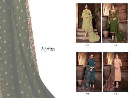 Amyra Designer Aaina Vol 3 Pakistani Designer Party Wear Salwar Kameez