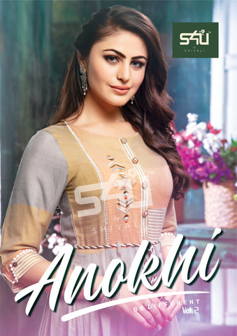 S4u Shivali Anokhi Vol 2 Ethnic Designer Classy Look Gown Collection