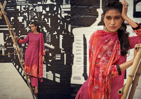 VARSHA INTRODUCES BLOOM PRINTED CASUALWEAR COTTON DRESS MATERIAL
