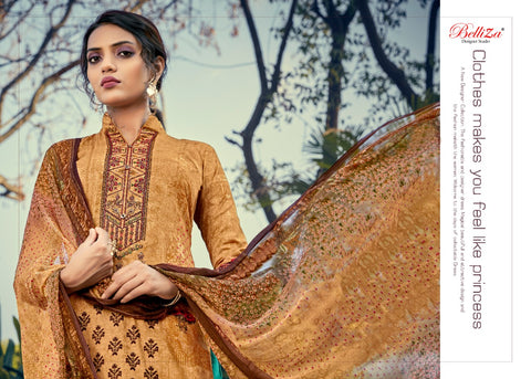 Belliza Designer Studio Mahira Vol 2 Cotton Digital Print Salwar Kameez