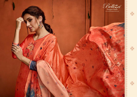 Belliza Designer Studio Nargis Digital Print Exclusive Salwar Suit In Wholesale