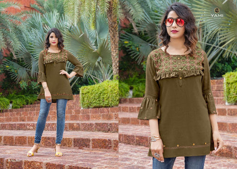 Yami Fashion Bold Vol 2 Desginer Casual Wear Kurti Collection