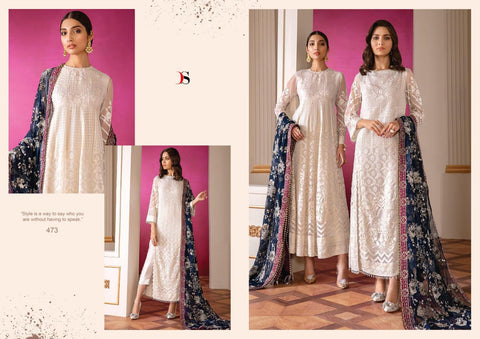 DEEPSY SUIT IMORZIA VOL 17 GEORGETTE WEDDING SUIT COLLECTION