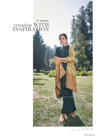 Deepsy Suit Presents Queeni Pashmina Printed Embroidery Work Fancy Designer Salwar Kameez
