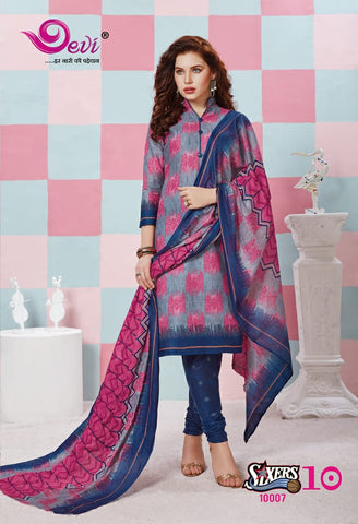 DEVI FASHION SIXER VOL 10 COTTON DRESS MATERIAL COLLECTION