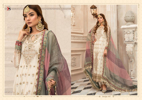 Deepsy Embroidered NX Georgette Pakistani Suits