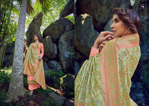 Deepsy Suits Classic Cotton Silk Jacquard Collection Salwar Suits