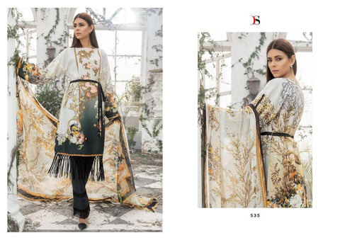 Deepsy Suits Elan Vol 11 Satin Silk Digital Print Eid Collection Wear