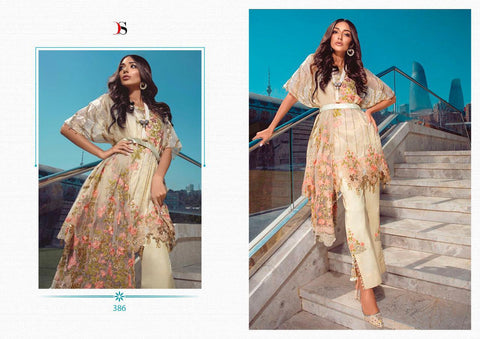 Deepsy Suit Imrozia Vol 16 Butterfly Net Embroidered Pakistani Collection