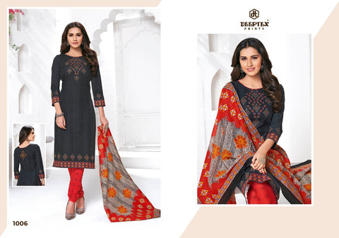 Anushka By Deeptex Prints Fancy Cotton Dress Collection