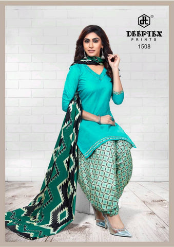 Deeptex Pichkari Vol 15 Cotton Casual Wear Dress Material Suits