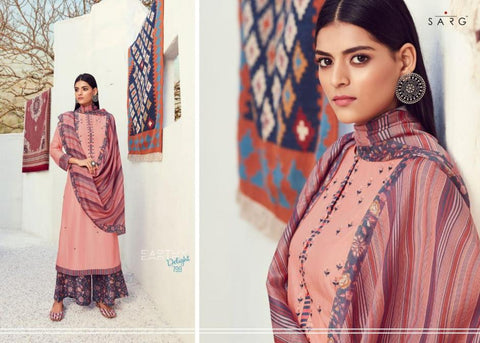 Sarg Introduce s Earthy Delight Pure Viscose Printed Dress