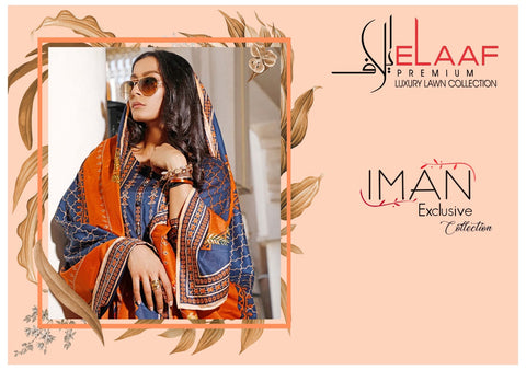 Iman Laxury Lawn Collection Cotton Casual Daily Wear Salwar Suits