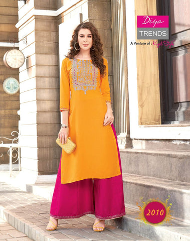 Diya Trends Fashion Angel Vol 2 Designer Daily Wear Kurties Collection