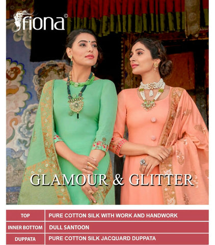 FIONA LAUNCHES GLAMOUR & GLITTER FESTIVE WEAR EMBROIDERED DRESS MATERIAL
