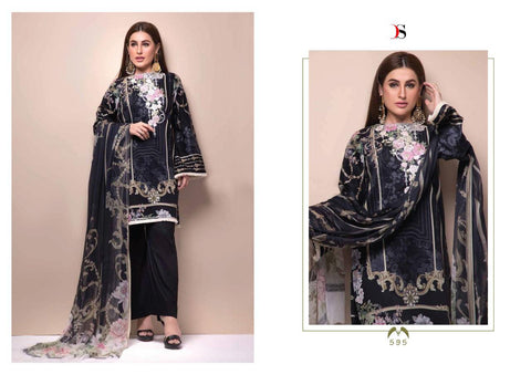 Deepsy Suits Firdous Digital Concept Jam Satin Pakistani Wear Salwar Kameez