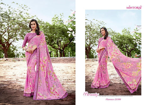 Mintorsi Florence Designer Fancy Saree Collection