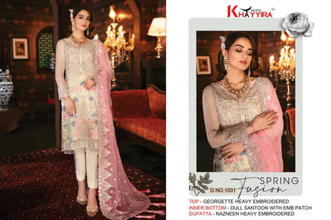 Khayyira Freesia Vol 2 Silk With Embroidered Pakistani Wear In Wholesale