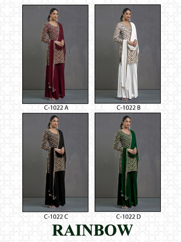 Fepic Rainbow Georgette Pakistani Stylish Collection